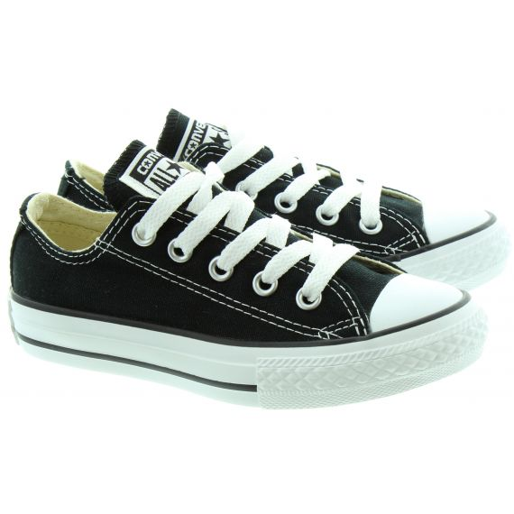 CONVERSE Canvas All Star Ox Kids Shoes in Black