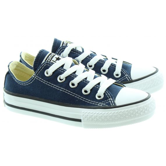 CONVERSE Canvas All Star Ox Kids Shoes in Navy