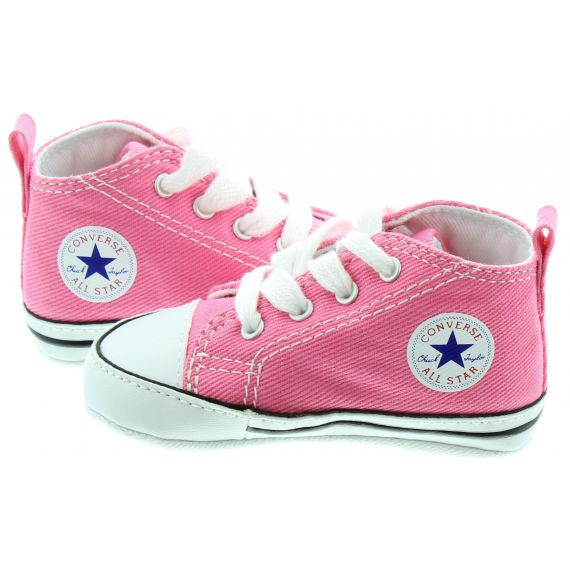 CONVERSE Crib All Star Boots in Pink