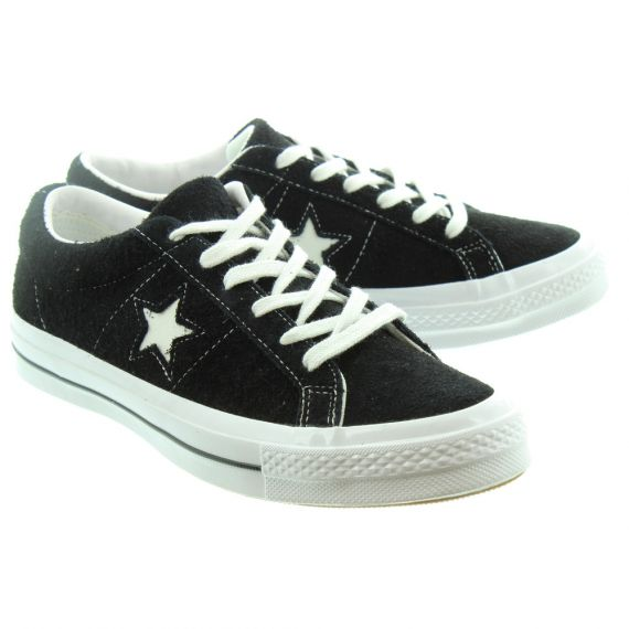 CONVERSE Mens One Star Lace Shoes In Black