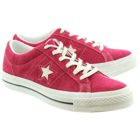 CONVERSE One Star Lace Shoes In Pink