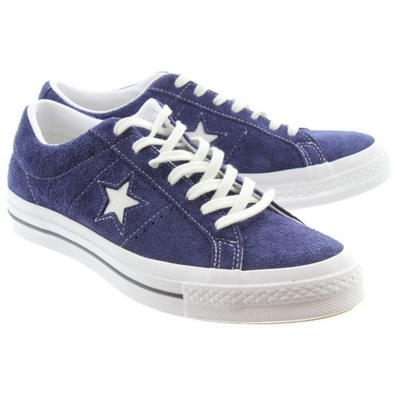 CONVERSE Mens One Star Lace Shoes In Eclipse