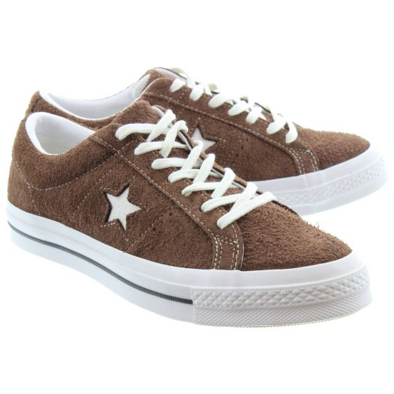 CONVERSE One Star Lace Shoes In Chocolate
