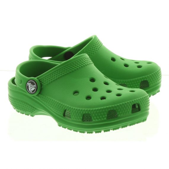 CROCS Kid Classic Clogs In Green