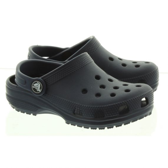 CROCS Kid Classic Clogs In Navy