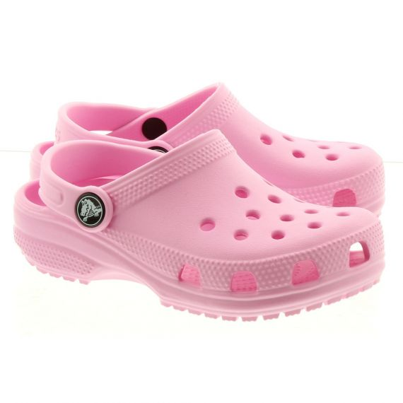 CROCS Kid Classic Clogs In Pink