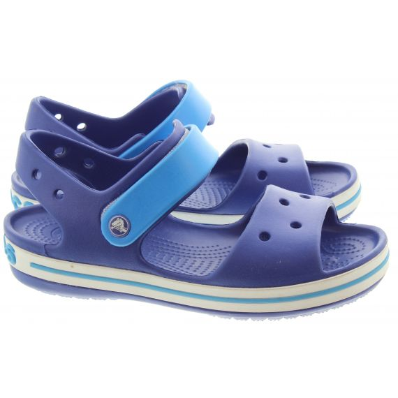CROCS Kids Crocband Sandal In Blue