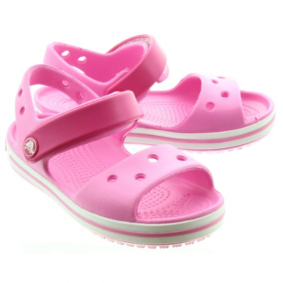CROCS Kids Crocband Sandal In Pink
