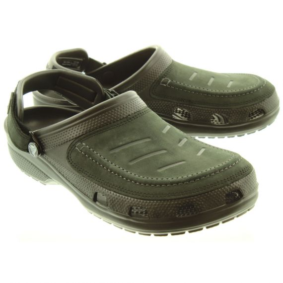CROCS Mens Yukon Vista Sandals In Black