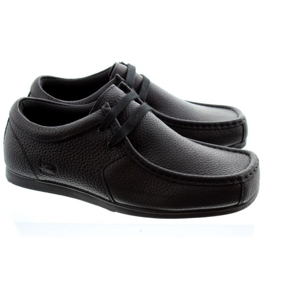 DEAKINS Kaos Leather Lace Shoes In Black