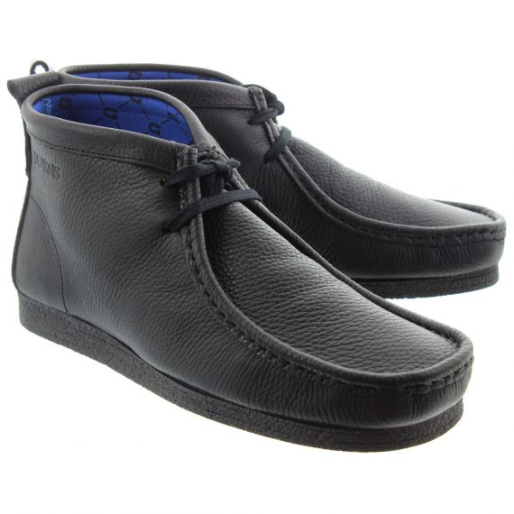 DEAKINS Mens Sankey Apron Boots In Black