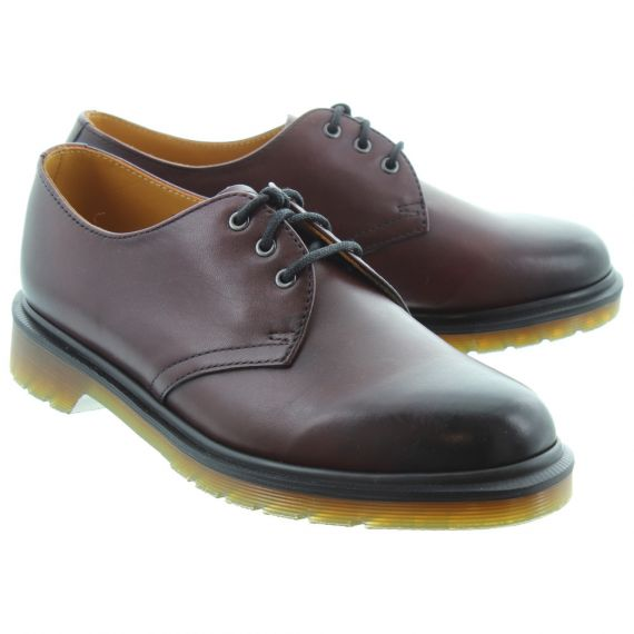 DR MARTENS 1461 Antique Temperley Shoes In Cherry