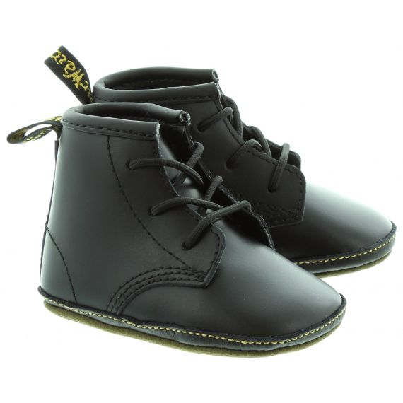 DR MARTENS 1460 Crib Boots in Black