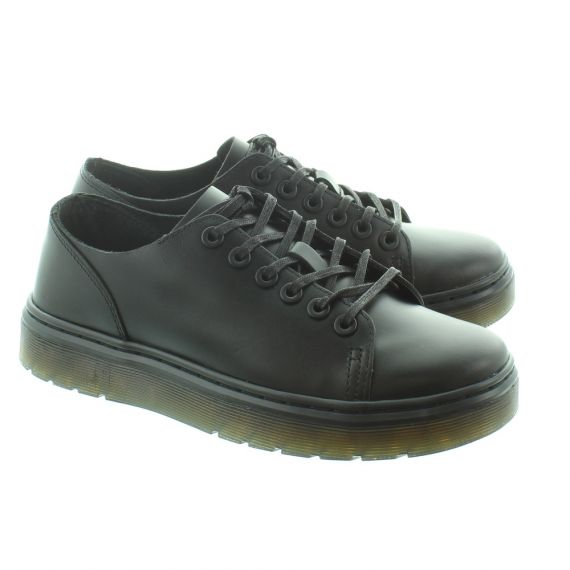 DR MARTENS Dante Brando Lace Shoes in Black