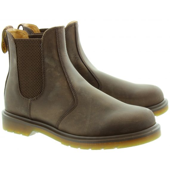 DR MARTENS Leather 2976 Chelsea Boot in Brown