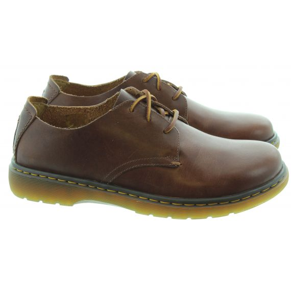 DR MARTENS Mens New Elsfield Shoes In Brown