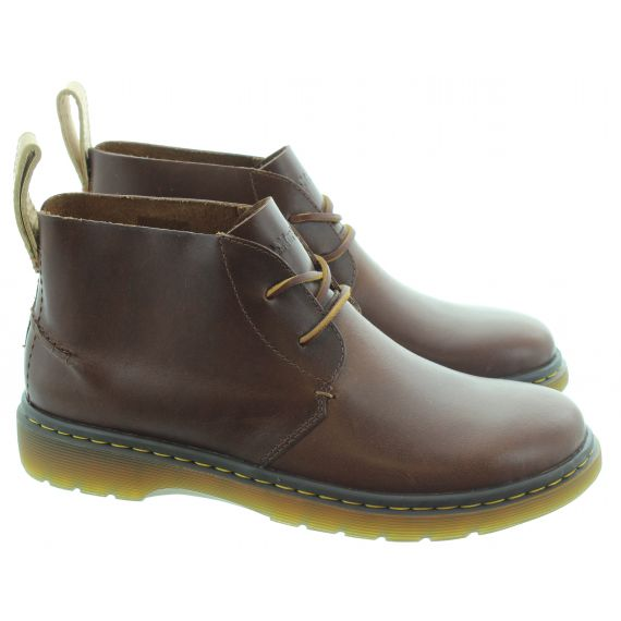 DR MARTENS Mens New Ember Boots In Brown