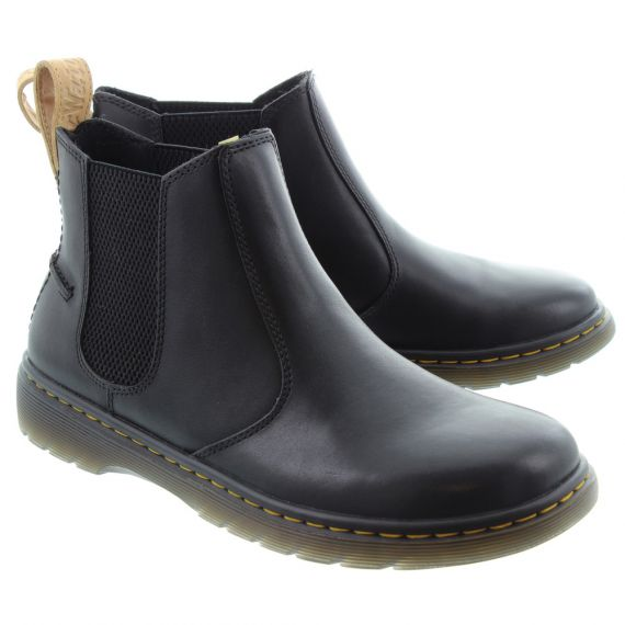 DR MARTENS Mens New Lyme Chelsea Boots In Black