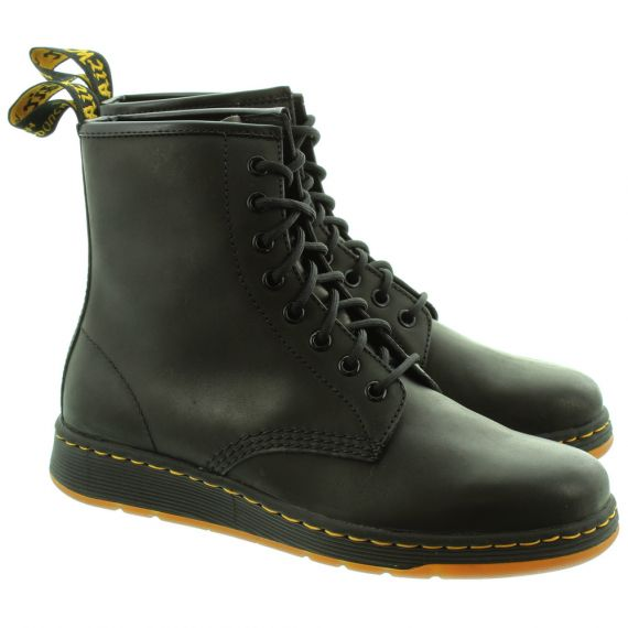 DR MARTENS Newton Soft Lace DM Lites Boots In Black