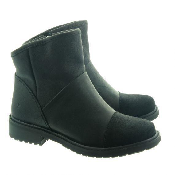 EMU Ladies Pinjarra Waterproof Ankle Boots In Black