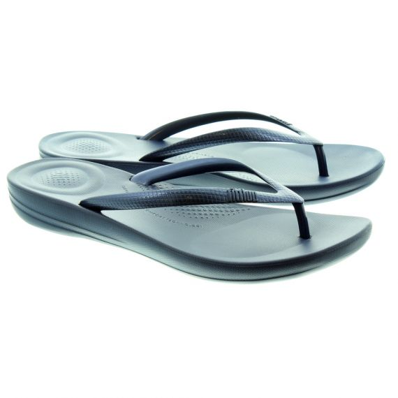 FITFLOP Lades Iqushion Flip Flops In Navy