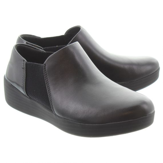 FITFLOP Ladies SuperChelsea Ankle Boots In Black
