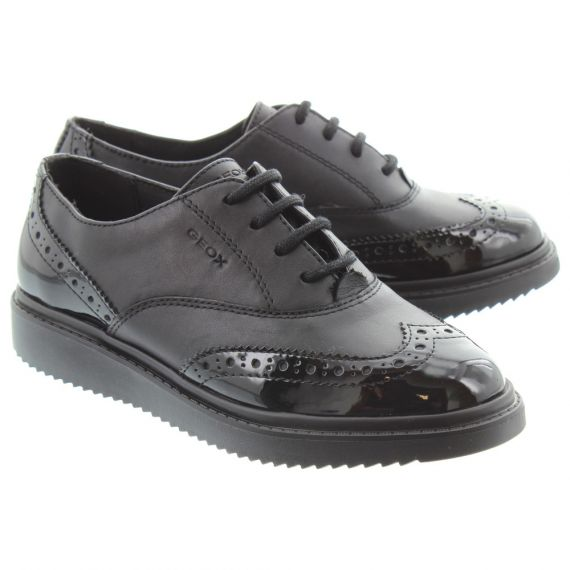 GEOX Thymar Brogue Lace In Black
