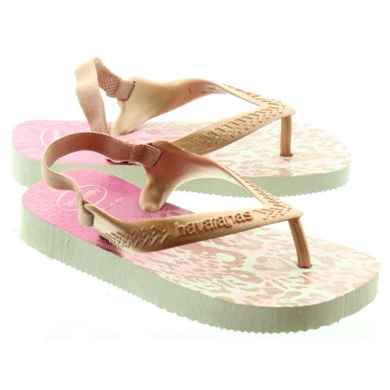 HAVAIANAS Baby Chic 2 Sandals In Blush