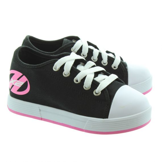 HEELYS Girls Fresh X2 77097K Heelys Trainers In Black Pink