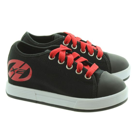 HEELYS Kids Fresh X2 770497K Heelys Trainers in Black Red