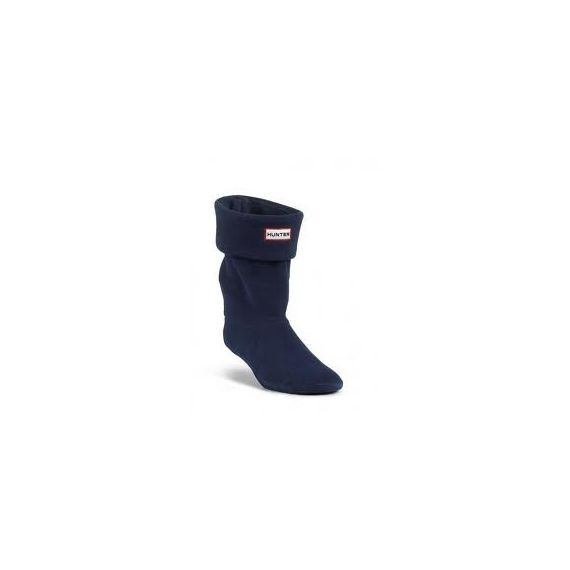 HUNTER Kids Welly Socks In Navy