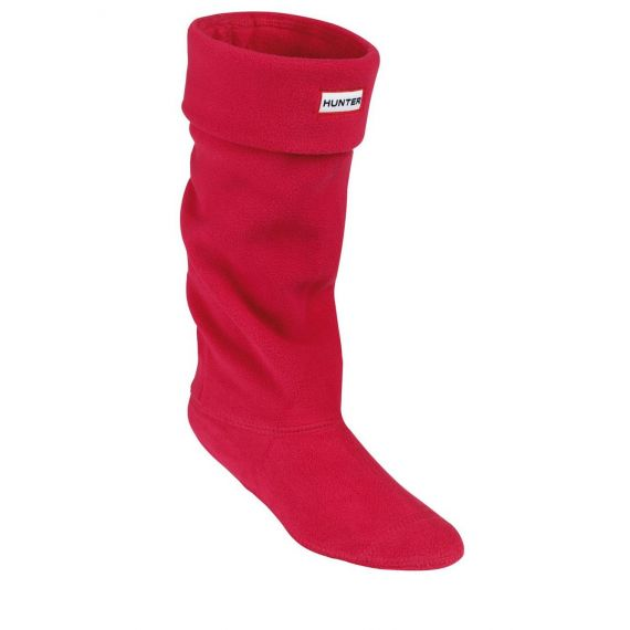HUNTER Kids Welly Socks In Red