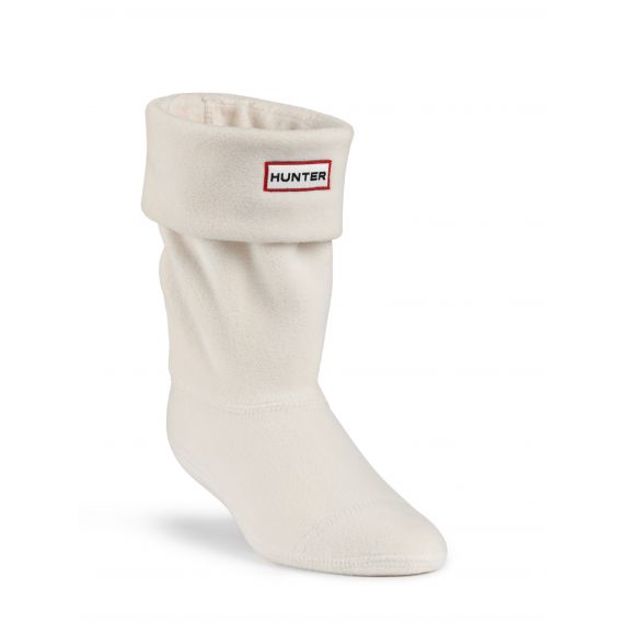 HUNTER Kids Welly Socks In Ivory