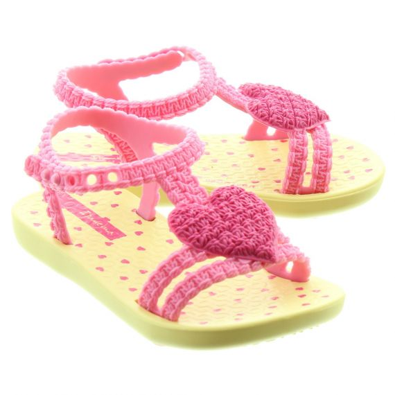 IPANEMA Baby My First Sandals In Pink