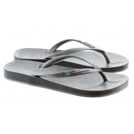 IPANEMA Beach Flip Flops in Grey