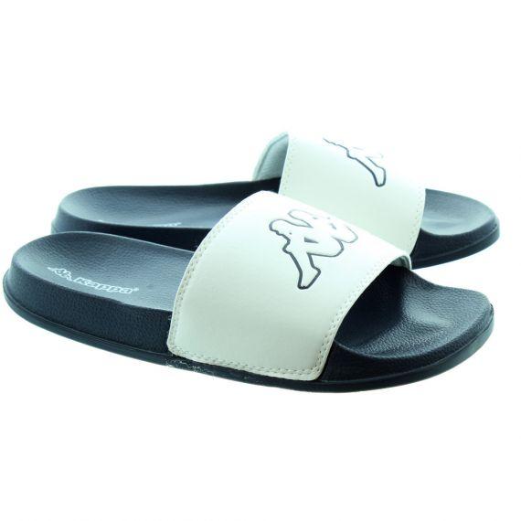 KAPPA Gigi Kappa Slides In White