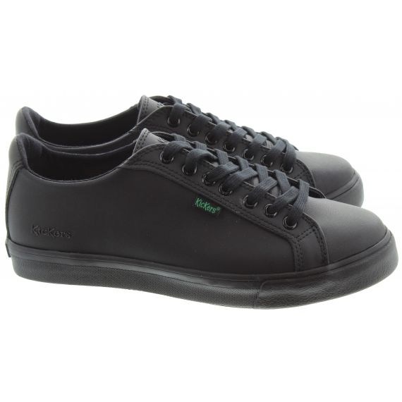 KICKERS Tovni Lacer Kids In Black