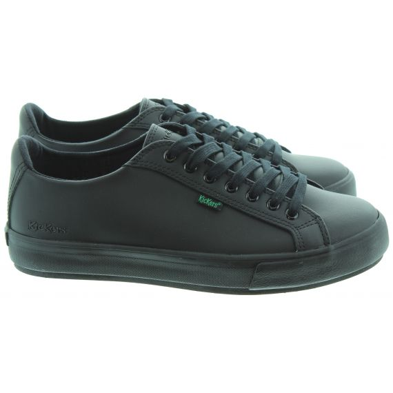 KICKERS Tovni Lacer Adults In Black