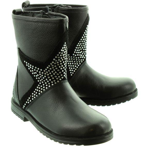 LELLI KELLY Kids LK3630 Vicky Star Boots In Black