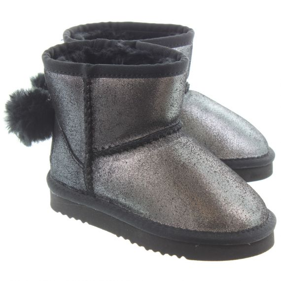 LELLI KELLY Kids LK3680 Valentine Ankle Boots In Black