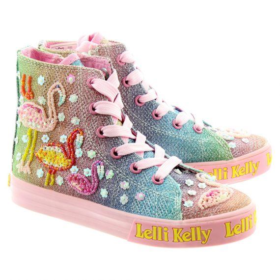 LELLI KELLY Kids LK5098 Flamingo Boots In Multi
