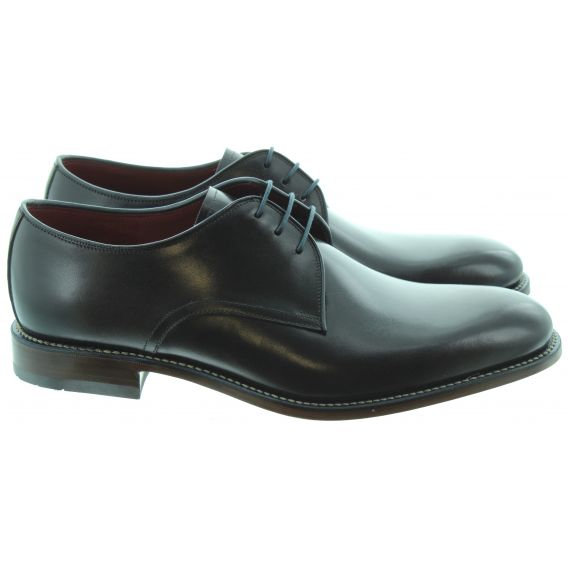 LOAKE Mens Drake Lace Shoes In Black