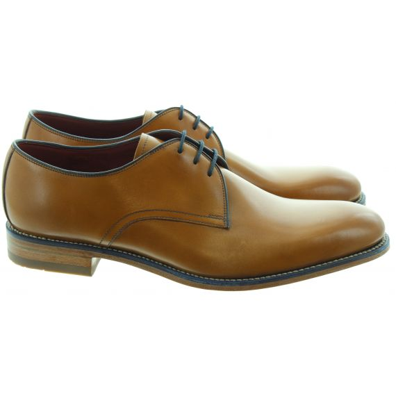 LOAKE Mens Drake Lace Shoes In Tan