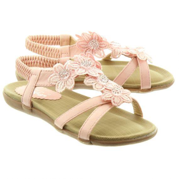 LUNAR Kids Fiji JCH002 Sandals In Pink