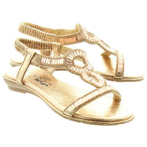 LUNAR Kids Samantha JCH004 Sandals In Rose Gold