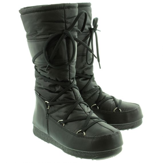 Womens Soft Shade Tall Boots In Black