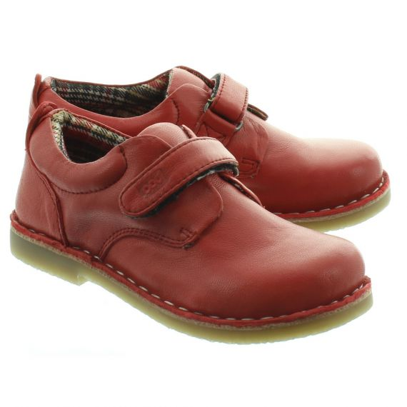POD Kids Kirk Velcro Shoes In Red