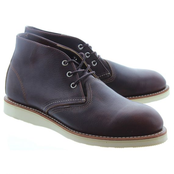 RED WING Mens 3141 Chukka Boots In Brown