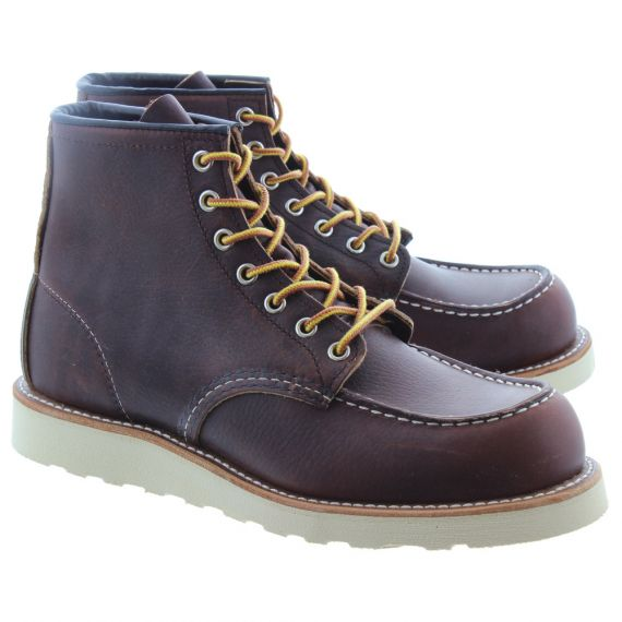 RED WING Mens 8138 Classic Moccasin Boots In Brown
