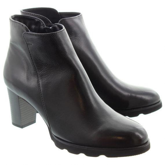 REGARDE LE CIEL Ladies Patricia 01 Heel Ankle Boots In Black
